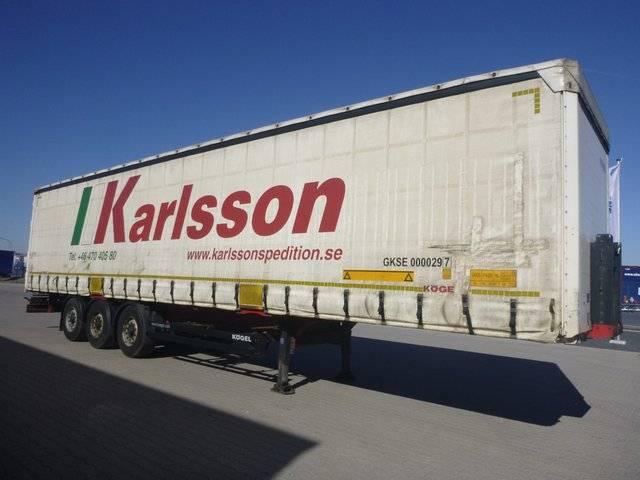Koegel Coil Schiebeplanen Sattelauflieger SN 24 K - 2012