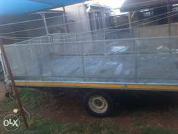 Large 1ton trailer to swop for smaller trailer