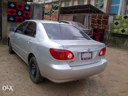 Sparkling and xcellent Toyota corolla