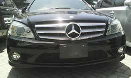 Mercedes Benz C 200 kompressor with double sunroof leather interior
