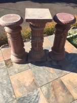 Concrete Pot Plant Stands