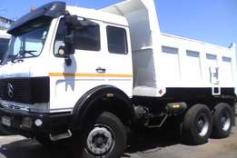 mercedes v-series 10 cube tipper for sale