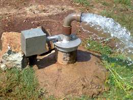 Borehole. Upto 300ft. All types of soils and rocks.