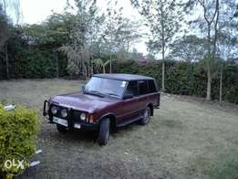 Range Rover Classic for quick sale,serious buyers only