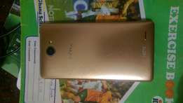 Slightly used Original infinix note 2, gold