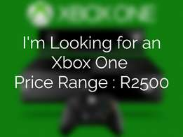 I'm Looking an Xbox One
