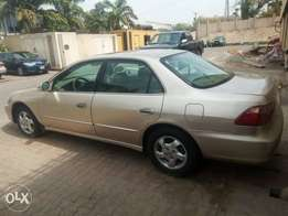 Honda accord in excellent condition.
