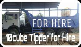 10 cube Tipper for Hire.