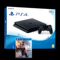 ps4 1tb plus Battle field 1. ( 1 year sony warranty )