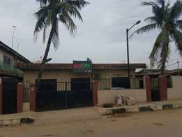 Uncompleted Building for sale at Ikeja off Airport road