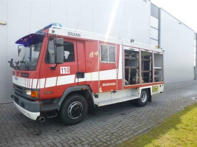 DAF 45.180 4X2 CREW CAB FIRETRUCK/FEUERWEHR ROSENBAU - 1995