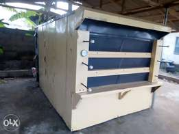 3 bags german electric and firewood oven