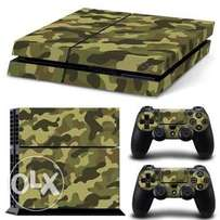 ps4 console and controller skin cover sticker