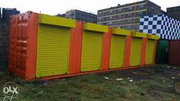 Container stalls/commercial shops for sale-fabricacated to your taste