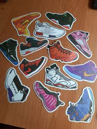 29cd527be Sneakers wlepki nike buty supreme adidas naklejki
