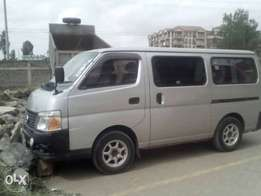 Vans available for Hire