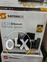 Sayona 2.1 woofer with bluetooth