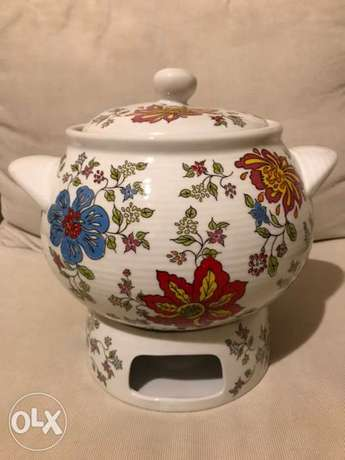 Décoratives Soup Pot with candle warmer جدة -  6