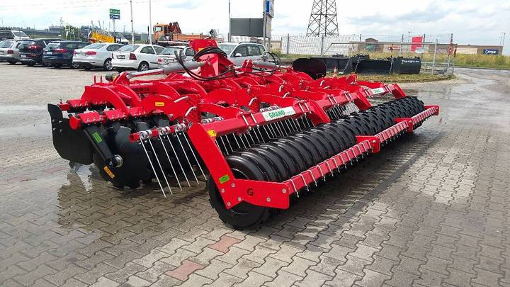 Grano System Disc Harrow Shs, 5,0 Ofas 610 + Heavy - 2019