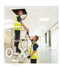 All types of building maintenance work