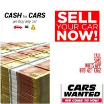 cars wanted for cash