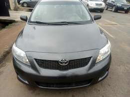 Toyota Corolla toks 2009 lagos cleared duty fully paid