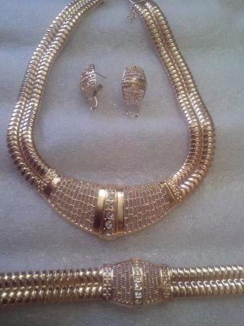 eaadf78f6fa6b3 Duży komplet biżuterii Kolia,bransoletka,kolczyki ,pierścionek Tanio !  Białystok - image 8