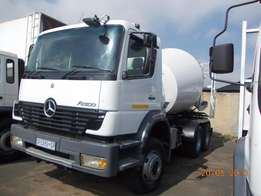 Mercedes Atego concrete mixer for sale
