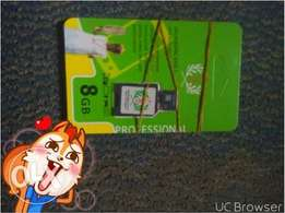 New 8gig Memory card for sale.Quality assured .