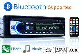 Car Stereo Player Bluetooth Phone AUX-IN MP3 FM/USB/1 Din/remote