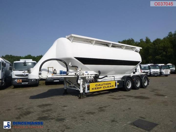Feldbinder Powder tank alu 40 m3 / 1 comp
