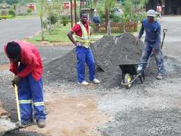 Maintenance and Repairs. Tar paving. concrete paving. builders