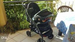 Chelino pram with piccolo