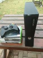 X box 360 slim. Make me an offer