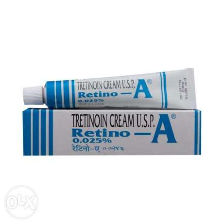 Retino A cream available for clear glowing wrinkles skin