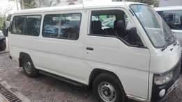 Nissan urvan 2004 local deasel buy and drive 2wd privately used