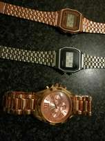 Unisex Casio and MK Women Watch For Sale