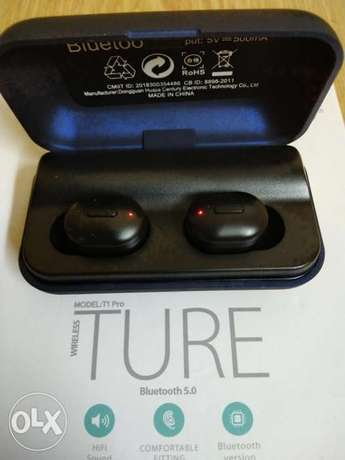 Ture earbuds T1pro bluetooth الرياض -  5