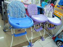 Kings collection baby high chair feeding chair