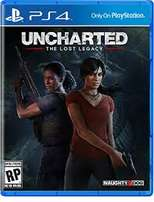 Uncharted the lost legacy Ps4 playstation 4