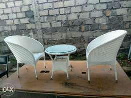 Balcony rattan set