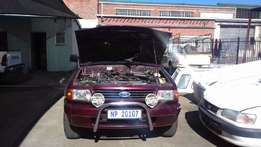 1999 Ford courier double can 3.4 v6 4x4