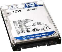 1 terabyte available