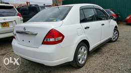 Nissan Tiida Latio, Pearl white Just Arrived