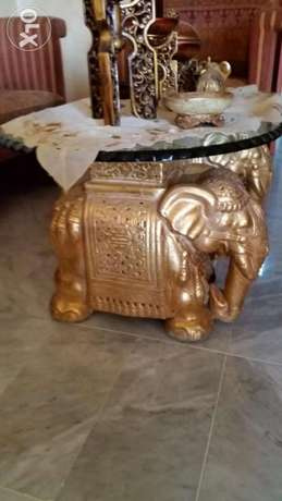 Sitting room elephent witch table originale