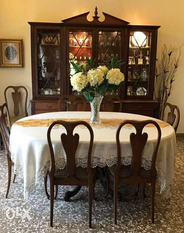 Dining room set 10pcs.