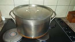 Large Stainless Stock Pot