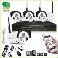 4 cctv HD wairless camera