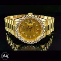 Rolex Oyster Perpetual Studded Watch