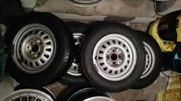 13 inch golf 1 steel rims